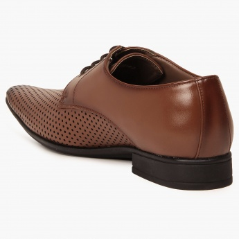 CODE Perforated Formal Shoes