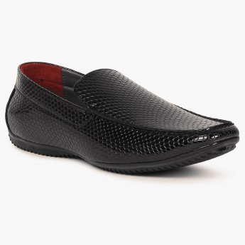 CODE Textured Formal Slip Ons