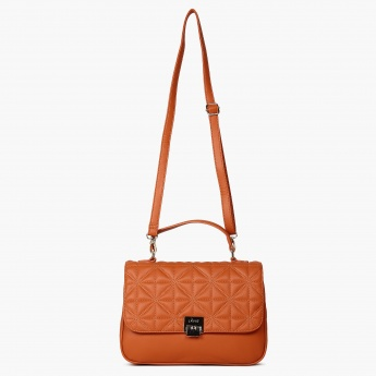 LAVIE Quilted Cross-Body Sling Bag