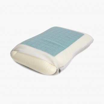 HOME CENTRE Slumber Oasis Memory Foam Gel Pillow-55 x 35 CM