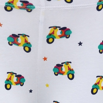 JUNIORS Scooter Print Leggings