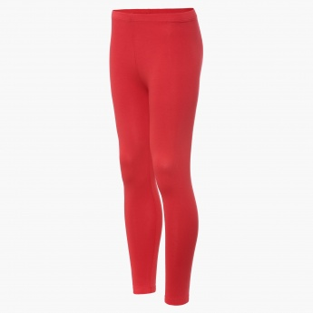 FAME FOREVER Solid Leggings