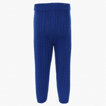 JUNIORS Knitted Solid Pants