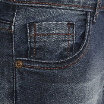 BOSSINI Stonewashed Whiskered Jeans