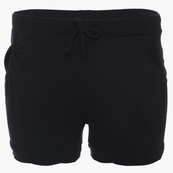 BOSSINI Solid Pocketed Shorts