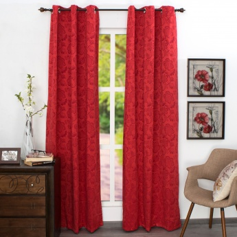 HOME CENTRE Jade Door Curtain - Set of 2 - 110 x 225 CM