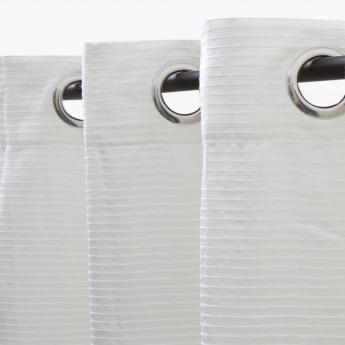 HOME CENTRE Marshmallow Chennile Door Curtain-Set Of 2-135 x 225 CM