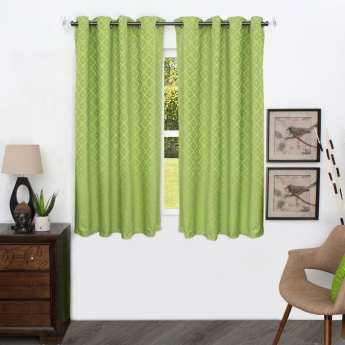 HOME CENTRE Aspen Chenille Window Curtain - 135 X 225 CM