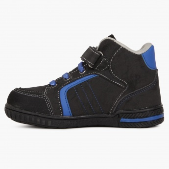 JUNIORS Velcro Closure High-Ankle Shoes