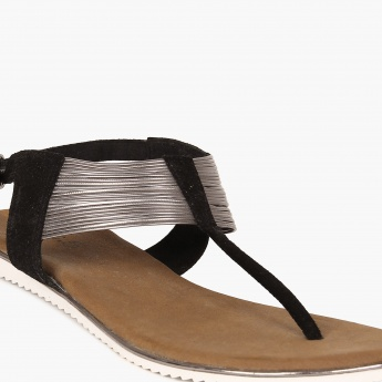 INC.5 Metallic Mix Sandals