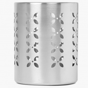 HOME CENTRE Gabrielle Stainless Steel Cutlery Holder