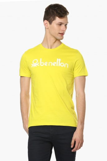 UNITED COLORS OF BENETTON Crew Neck T-Shirt