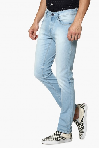 FLYING MACHINE Light Wash Slim Fit Jeans