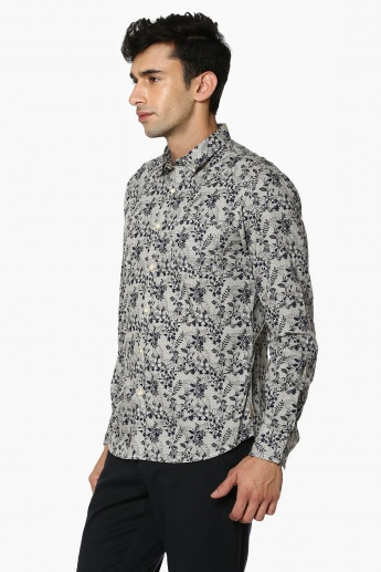 FLYING MACHINE Floral Print Casual Shirt
