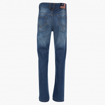 U.S. POLO ASSN. Stonewashed Five-Pocket Jeans