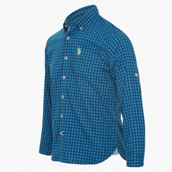 US POLO KIDS Gingham Checks Shirt