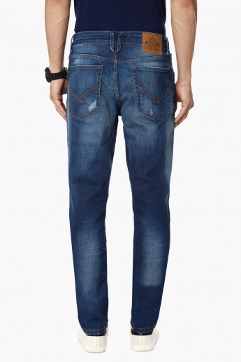 U.S. POLO ASSN. Stonewashed Five Pocket Jeans