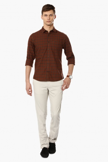 INDIAN TERRAIN Casual Check Shirt