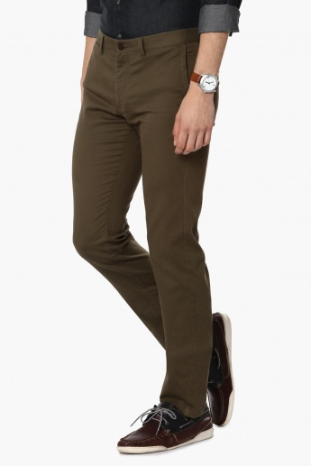 INDIAN TERRAIN Brooklyn Fit Solid Pants