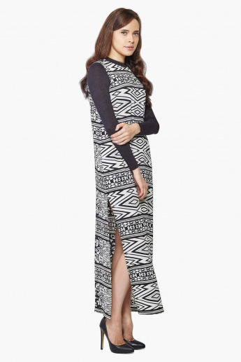 AND Full Sleeves Maxi Dress