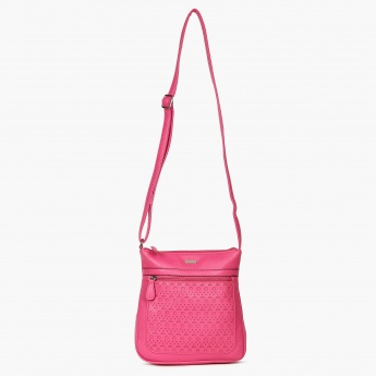 LAVIE Perforated Sling Bag
