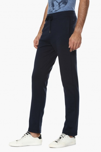 FAHRENHEIT Solid Pocketed Athleisure Pants
