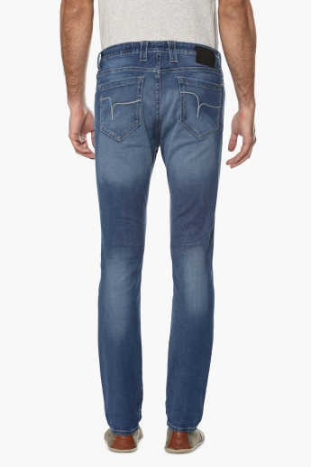 FLYING MACHINE Stonewashed Skinny Jeans