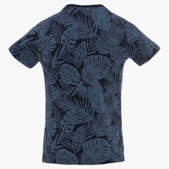 ALLEN SOLLY Graphic Print T-Shirt