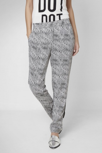 VERO MODA Snake Printed Casual Fit Pants