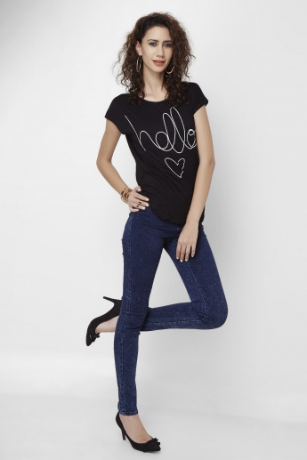 VERO MODA Hello Round Neck Top