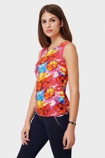VERO MODA Floral Fusion Sleeveless Top