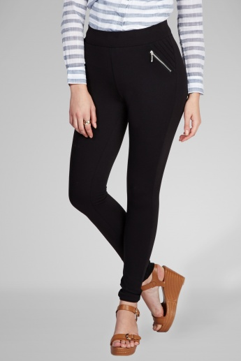 ONLY Solid Full Length Leggings