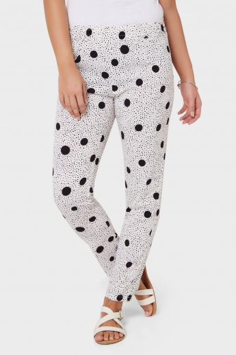 ONLY Polka Dot Print Pants