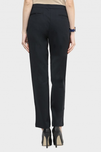 UNITED COLORS OF BENETTON Solid Trousers