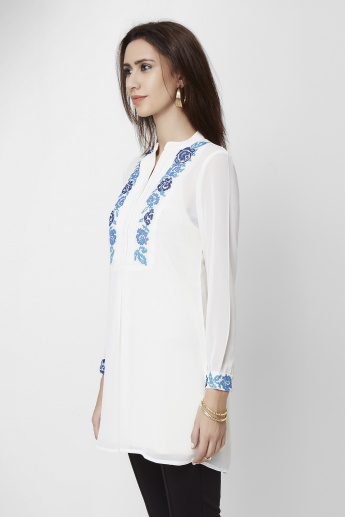 AND Embroidered Tunic