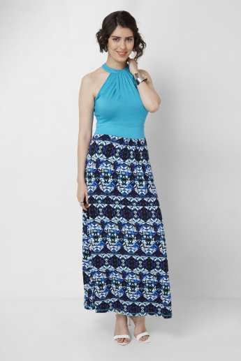 AND Halter Neck Maxi Dress