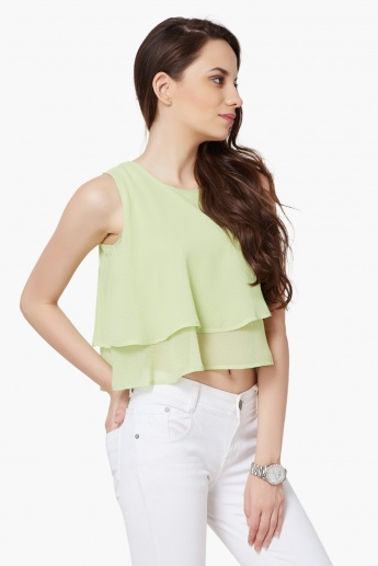 AND Layered Sleeveless Top