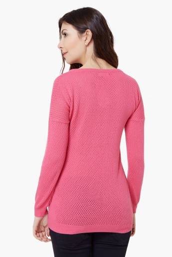 BOSSINI Flat Knit Porous Top