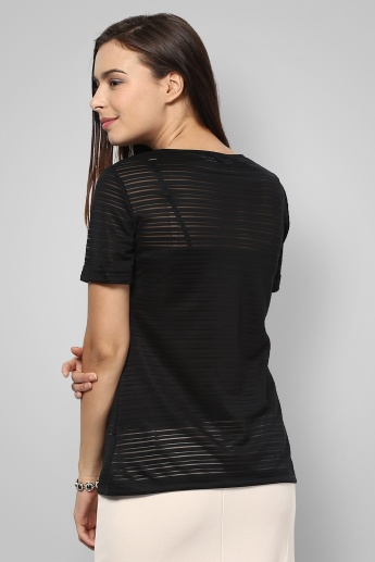 BOSSINI Round Neck Top