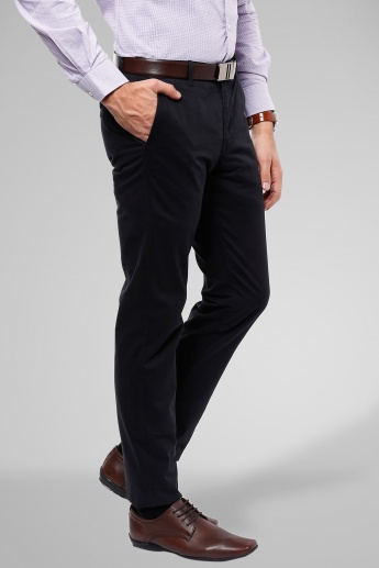 INDIAN TERRAIN Flat Front Trousers