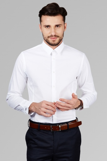 ARROW NEW YORK Spread Collar Shirt