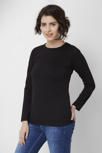 AND Solid Full Sleeves Top