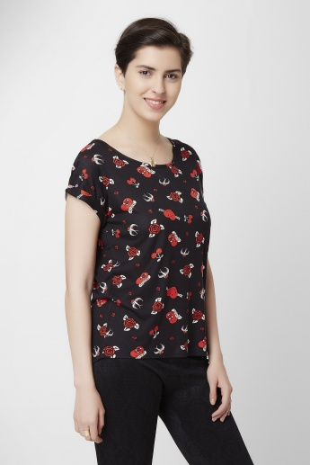 SMILEY WORLD Round Neck T-Shirt
