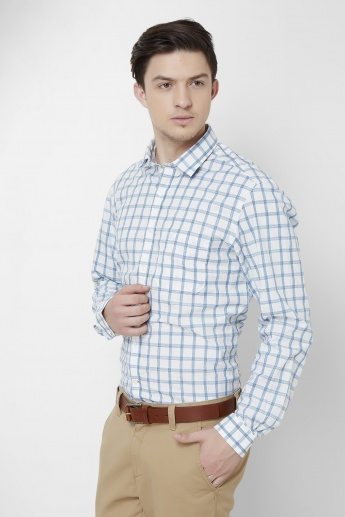 CODE Checks Print Slim Fit Shirt