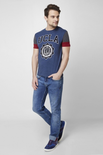 UCLA Half Sleeves Crew Neck T-Shirt