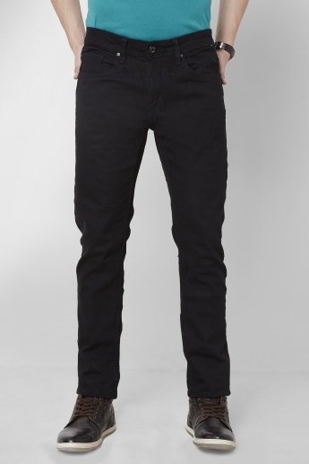 BEING HUMAN Solid Slim Fit Jeans
