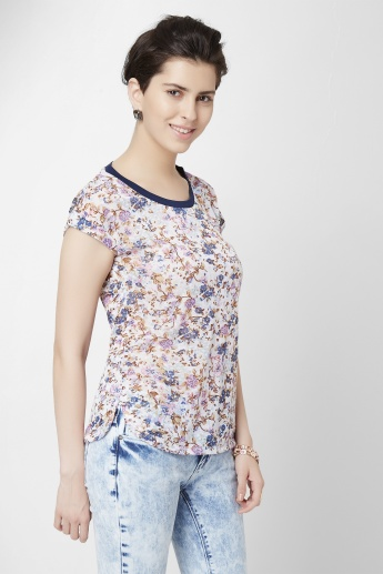 BOSSINI All Over Printed Top