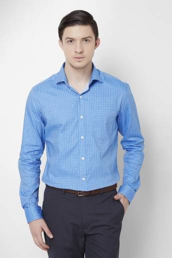 CODE Checked Full Sleeves Shirt