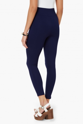 CODE Solid High Waist Leggings