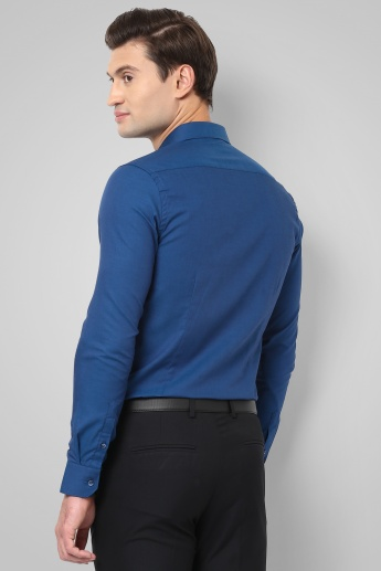 CODE Solid Full Sleeves Shirt